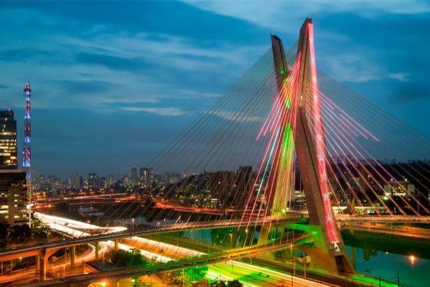 Фотообои Сан-Паулу, Бразилия (city-0000212)