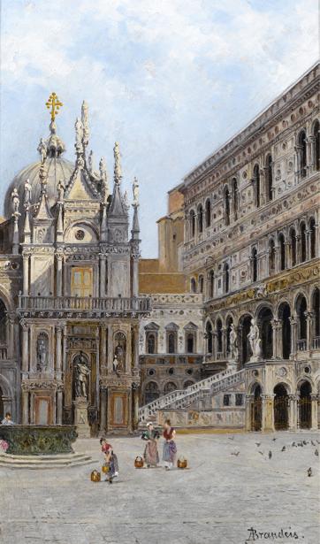 """Фотообои Brandeis """"Scala D'Oro Venice"""" (city-0000428)"""