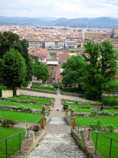 Фотообои Боболи сад Флоренция (city-0000436)