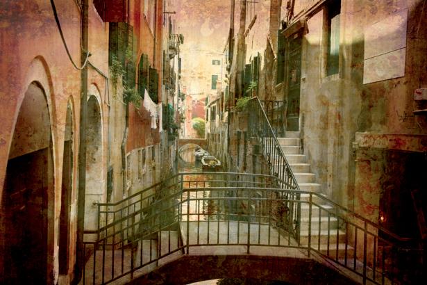 Фотообои Венеция винтаж (city-0000470)