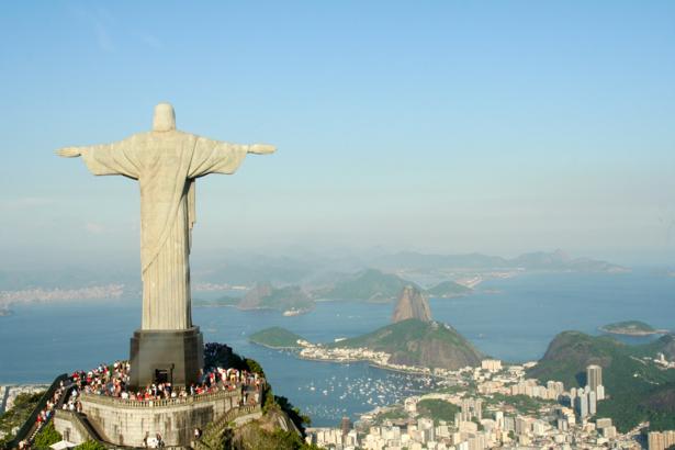 Фотообои статуя Христа Искупителя (city-0000652)