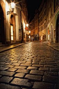 Фотообои уличный булыжник (city-0001028)