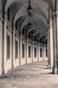 Фотообои арка галерея (city-0001185)