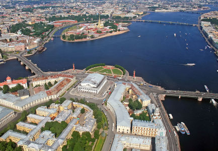 Фотообои Васильевский остров, Санкт-Петербург (city-1461)