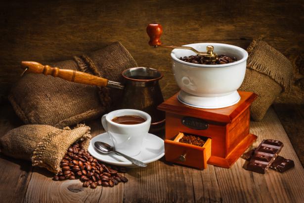 Кофейная композиция фотообои кофе (food-0000155)