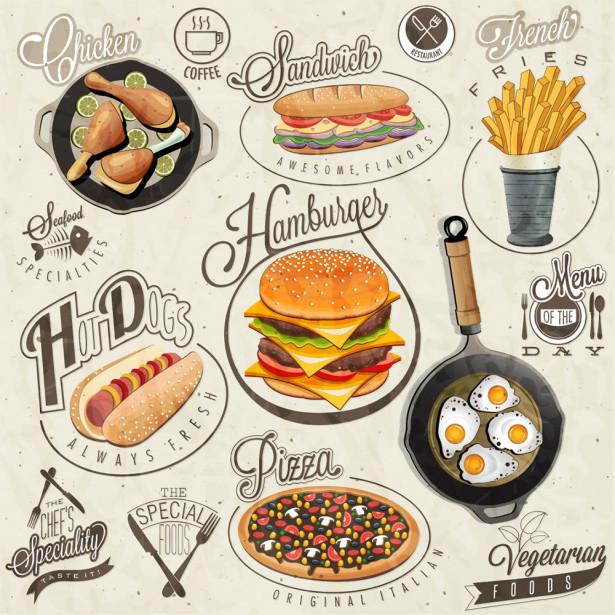 фотообои с регулярным рисунком (food-340)