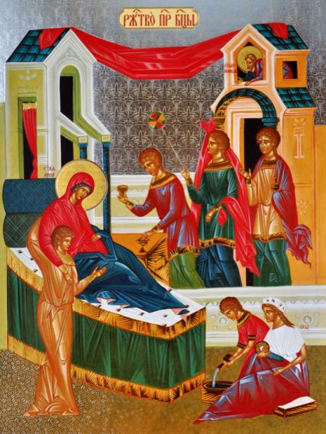 Икона Рождество Пресвятой Богородицы (icon-00022)