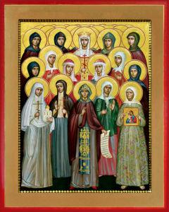 Икона святых жен-мироносиц (icon-00094)