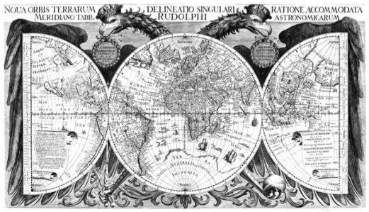 атлас, география, карты, старая карта (map-0000079)