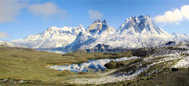 Фотообои красивые горы в снегу (nature-00474)