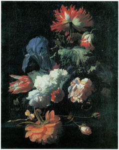 натюрморт картина на холсте  цветы (pf-114)