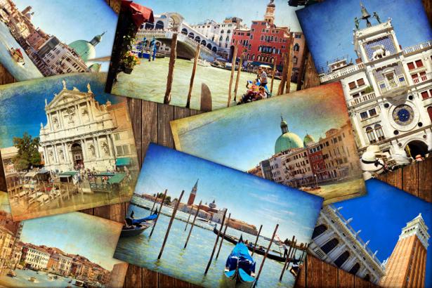 Фотообои открытки ретро (retro-vintage-0000161)