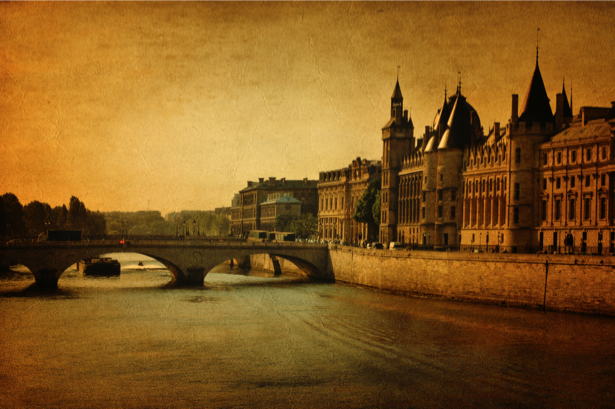 Фотообои город Европа ретро (retro-vintage-0000182)