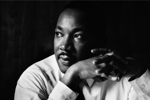 Мартин Лютер Кинг, американский проповедник (retro-vintage-0000341)