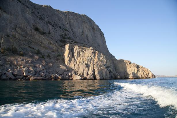 Фотообои море берег гора в море (sea-0000264)