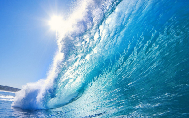 Фотообои море и гребень волны (sea-0000362)