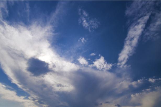 Фотообои панно небо с облаками (sky-0000023)