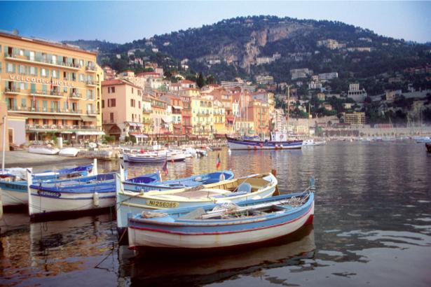 Фотообои с пристанью и яхтами (transport-0000060)