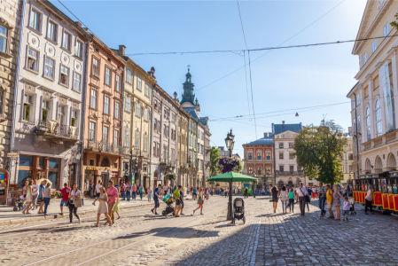 Фотообои Рыночная площадь (ukr-53)