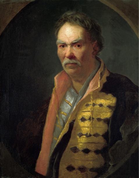Портрет напольного гетмана Павла Полуботка (ukraine-0008)