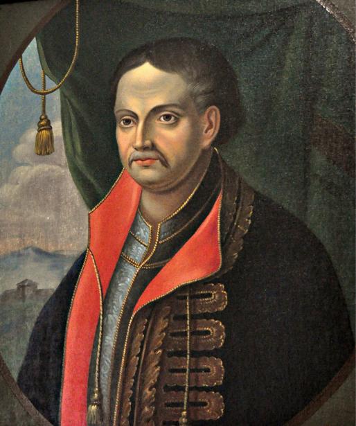 Верховный военный вождь запорожских казаков Иван Мазепа (ukraine-0019)