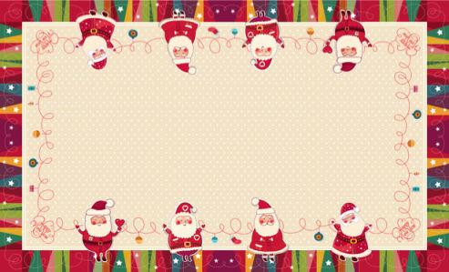 Скатерть Санта Клаус (0048)