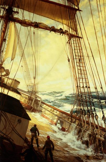 яхта, вода, корабли (art-0000056)