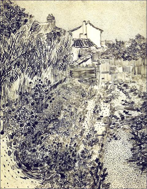 Ван Гог графика (art-0000267)