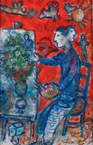 Шагал, авангард (art-0000381)