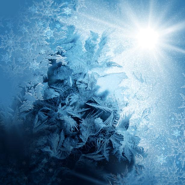 Фотообои зимняя текстура (background-0000119)