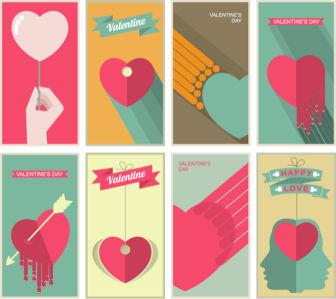 Фотообои плакаты День Святого Валентина (background-0000364)