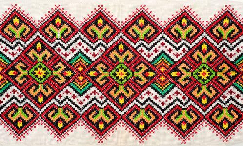 Фотообои Украинский орнамент вышитый (background-387)