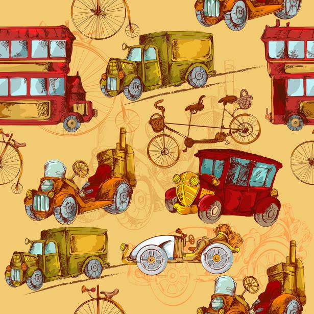 Фотообои ретро транспорт (child-455)