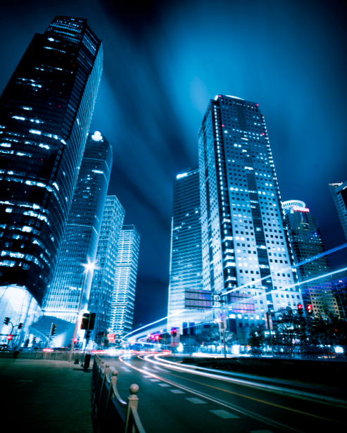 Фотообои современный город небоскребы (city-0000250)