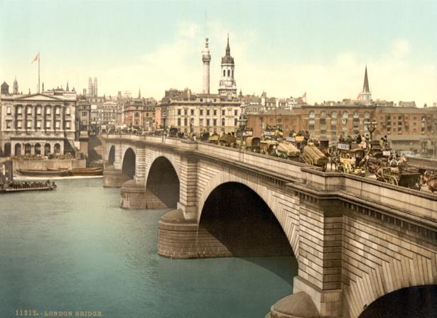Фотообои старый Лондон Англия (city-0000366)