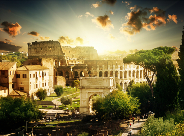 Фотообои Римский форум колизей (city-0000418)