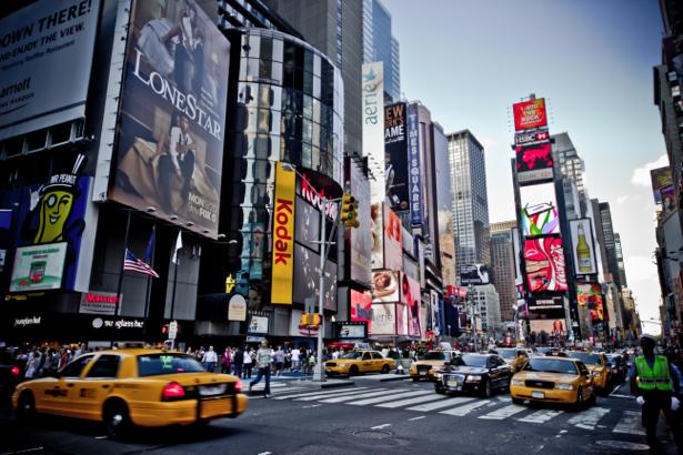 Фотообои Нью-Йорк Америка улицы (city-0000438)