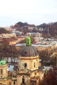 Львов собор Фотообои костел (city-0000643)