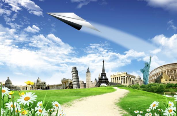 Фотообои фантастическая архитектура (fantasy-0000084)