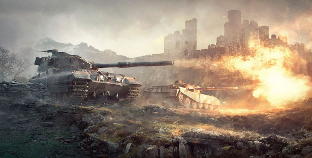 Фотообои World of Tanks (fantasy-0000184)