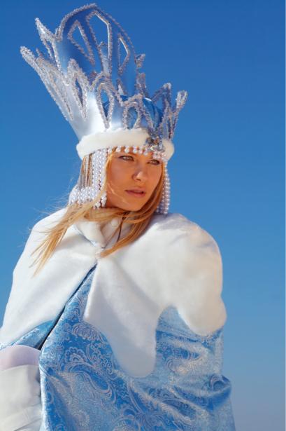 Фотообои мода снежная королева (glamour-0000132)