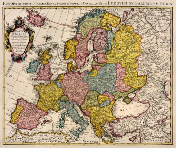 атлас, география, карты, старая карта (map-0000111)