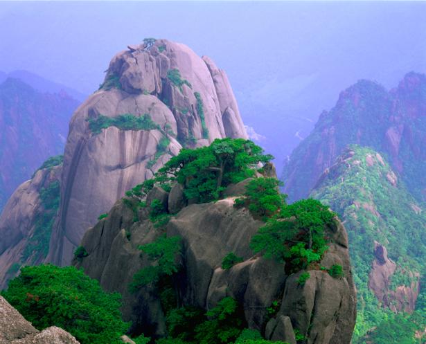 Фотообои вид на горы и вершины (nature-00284)