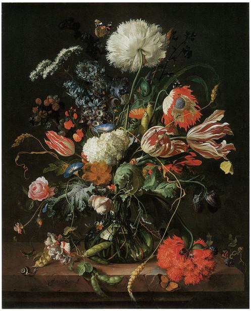 натюрморт с цветами  Ян Давидс де Хем (pf-60)