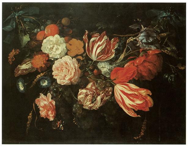 натюрморт с цветами (pf-61)