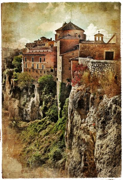 Фотообои винтаж Европа замок (retro-vintage-0000172)