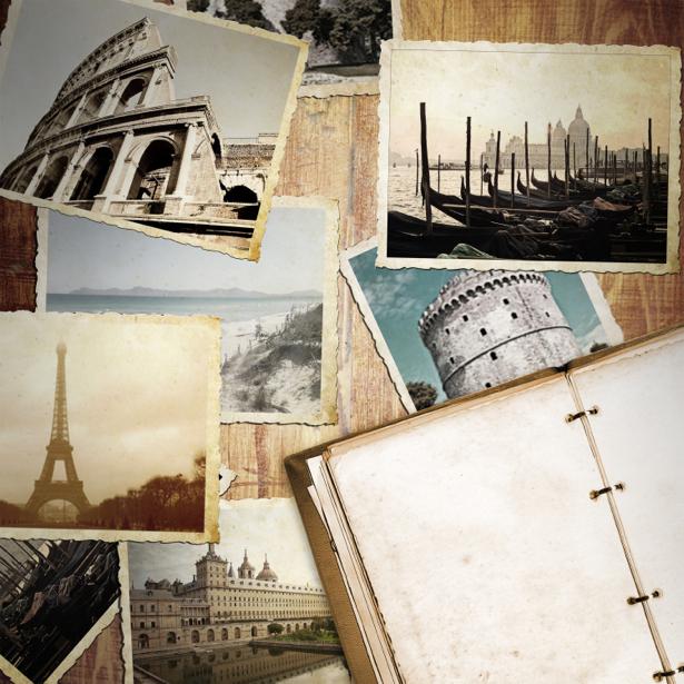 Фотообои ретро фото композиция (retro-vintage-0000189)