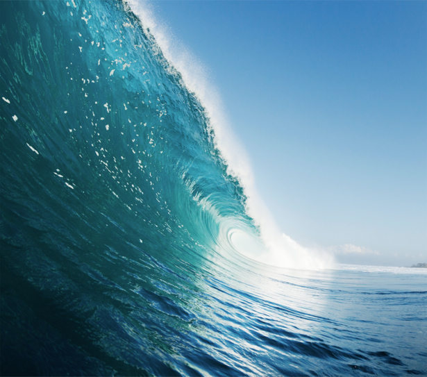 Фотообои волна на море фото (sea-0000367)