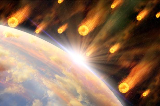 Фотообои астеройды астрономия (space-0000072)
