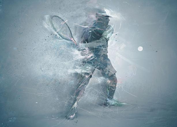 Фотообои Теннисист (sport-181)
